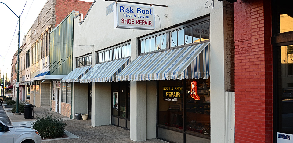 Risk Shoe Store Front